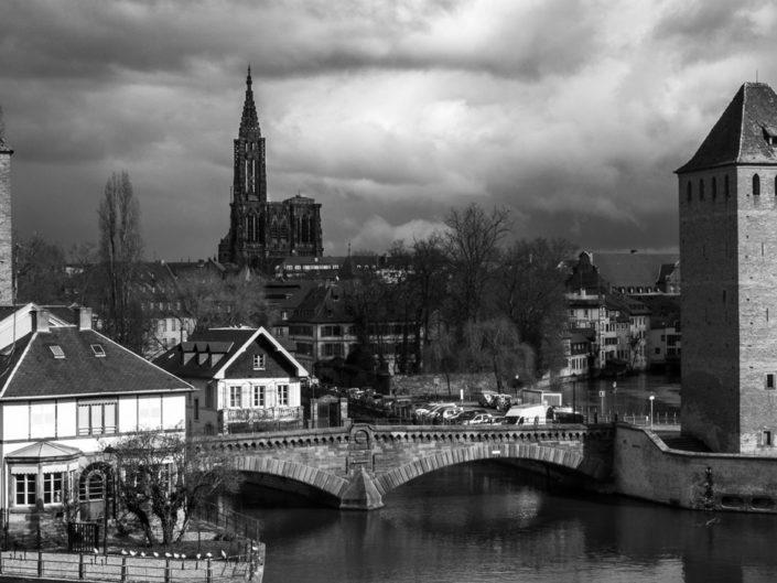 Ténébreuse Strasbourg en noir et blanc